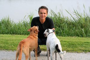 Hondengedragsdeskundige Arnoud Busscher